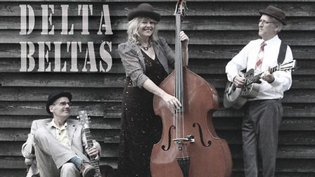 The Delta Beltas who are performing at the Fisher Theatre, Bungay.