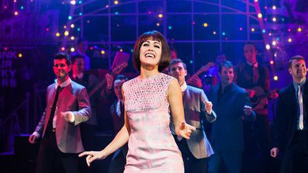 Elizabeth Carter as Laura in the Dreamboats and Miniskirts UK tour, which arrives at Lowestofts Mari