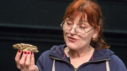 Oysters, Eastern Angles' latest touring production, is coming to Beccles next Friday.