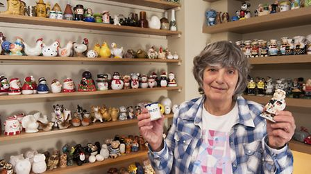 Collectors Corner: Janice Broom from Halesworth has a collection of over 400 salt and pepper pots.