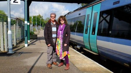 Robert and BrendaTungatt who joined the station adopters team at Beccles last year.