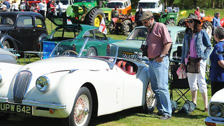 Bungay Lions: Classic vehicle rally and country fayre at Earsham Hall.Picture: James Bass