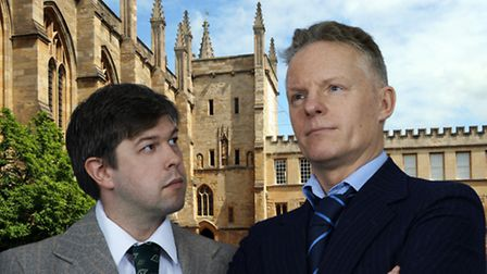 The cast of Inspector Morse, House of Ghosts, which will be coming to the Fisher Theatre.