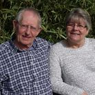 Robin and Carol Reeve who have celebrated their golden anniversary.