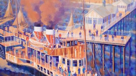 John Dawkins will be exhibiting his work at The Little Gallery, Halesworth.
