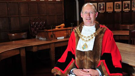 Hugh Taylor is the new Beccles Town Mayor.