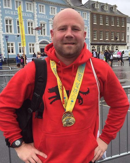 Danny Bell-Tye who posted a 10k PB at the Great East Anglia Run