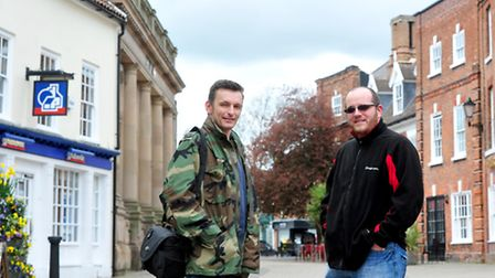 Bob Cossey and Matt Gooch (glasses) have set up a facebook page called Views of Old Beccles.