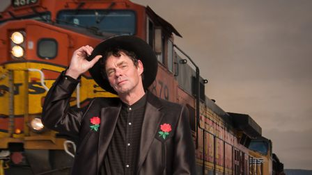 Rich Hall will be perofmring his new comedy show at the Marina Theatre, Lowestoft