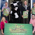 Back Row Left to Right: Caroline Topping, Jon Sexton (Beccles Christmas Lights Committee), HughTaylo