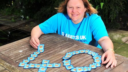 Caroline Carvosso is celebrating her 40th birthday by taking on 40 different challenges set by famil