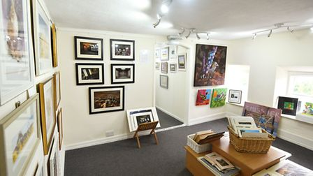 The Upstairs Gallery in Beccles has been named one of the best small galleries in the UK.Picture: Ja