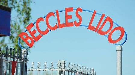 Beccles Lido Picture: James Bass