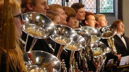 National Youth Brass Band of Great Britain.