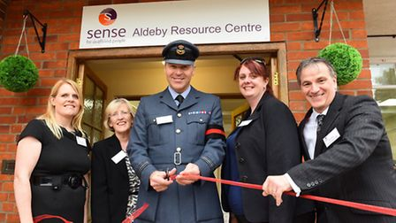 Official opening of the Sense Resource Centre at Aldeby.Specialist education and day service.The off