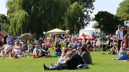 The Harvest Moon Festival 2015 in Beccles