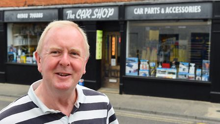 Graham Smith, owner of the car shop in Beccles is retiring after owning it for nearly 20 years.Pictu