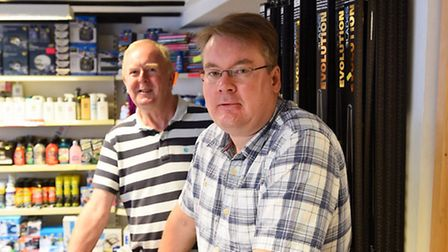 Graham Smith, owner of the car shop in Beccles is retiring after owning it for nearly 20 years.Stuar