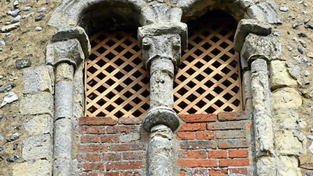 The newly made louvres on the tower of St Matthias Church, Thorpe next Haddiscoe.Picture: James Bass