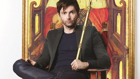 Beccles Public Hall will be screening Shakespeare's Richard II with David Tennant on Sunday, Septemb