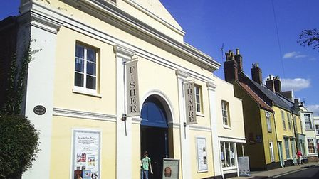 The Fisher Theatre in Bungay