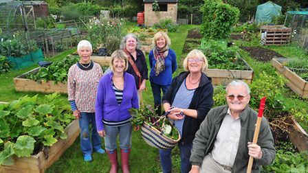 Beccles Allotments and Gardens Association working with Beccles U3A to create an allotment for older