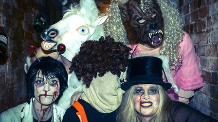 The circus is this year's theme of the Halloween ball.