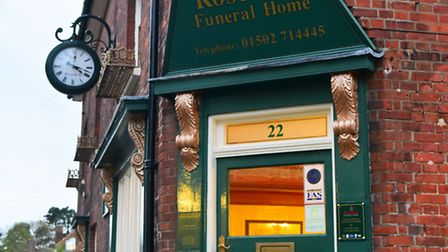 Rosedale funeral home, Beccles.