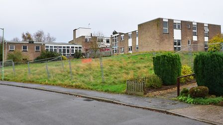 Robert Blackham and Sally Crawford in the former Dell Care Home. Plans have been approved for a new