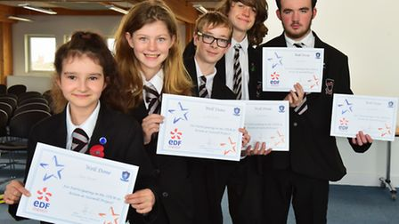 Local schools take part in a special science, technology, engineering and maths project called STEM