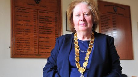 Anne Fleming, chairman of Halesworth Town Council.