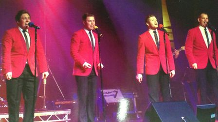 The Sherry Babys will present their Jersey Boys tribute.