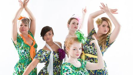 The Nab Jab dance school who will be performing in Music of the Night at Beccles Public Hall.