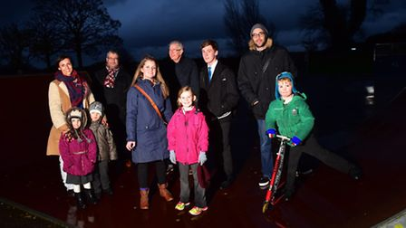 The Beccles Skate Park Committee has been given a boost after recent fundraising events.