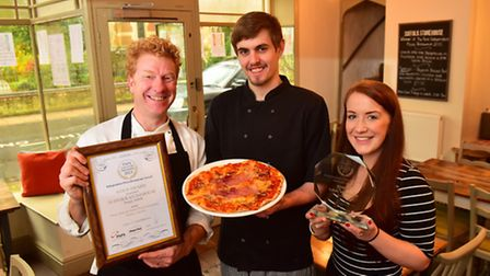 Suffolk Stonehouse Pizza restaurant in Bungay has been named the best independent pizza restaurant i