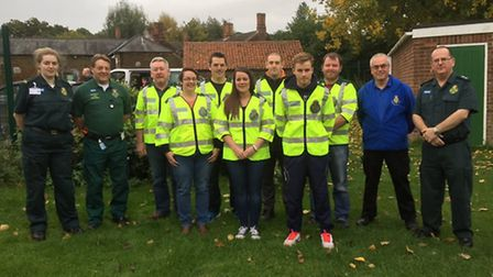 Community First Responders complete their training in Norfolk.