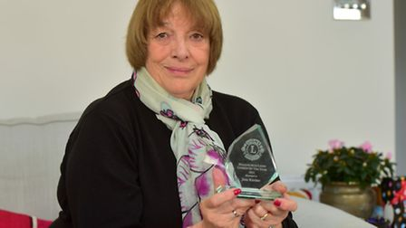 Jane Kircher has been awarded one of the Halesworth Citizen of the Year awards.
