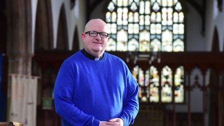 The Rev Rich Henderson is the new priest in charge of the parish of Beccles.