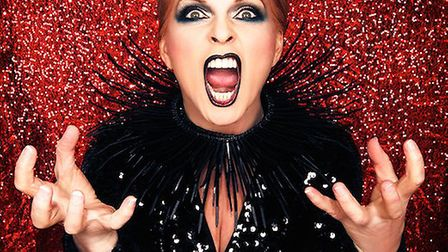 Toyah Wilcox, who is appearing at Bungay's Fisher Theatre