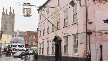 The King's Head Hotel in Bungay which is being used for a major new heritage project. Picture: James