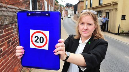 Andrea Downes, chair of of the Northgate neighbourhood scheme.