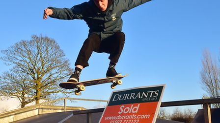 Durrants estate agents are set to donate money to the Beccles skate park project. PHOTO: Nick Butche