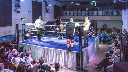 A Night of Wrestling with WAW will be returning to Beccles Public Hall.