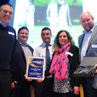 The South Norfolk Community Awards 2016. The Topcroft Cricket Club, winners of the Community Wellbei