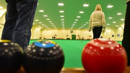The Beccles Indoor Bowls Club attracted plenty of new members. PHOTO: Nick Butcher