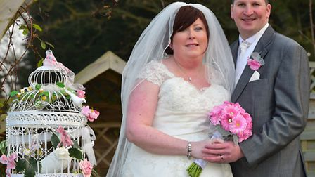 Sarah and Lee Effeny got married last weekend at Carlton Manor. PHOTO: Nick Butcher