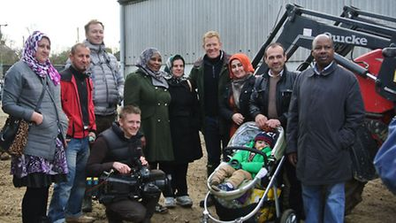 Clinks Care Farm in Toft Monks will be appearing on an episode of Countryfile this wekeend