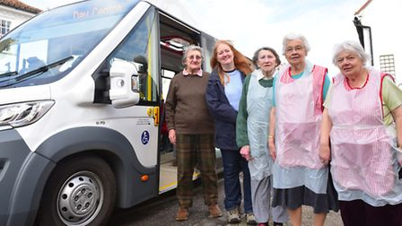 Halesworth Day centre is need of more volunteers to help run the bus service they provide. Volunteer