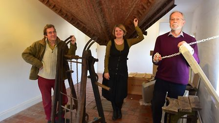 The project, run by New Cut Arts, has been awarded over £65000 of Heritage funding. Simon Raven, Vi