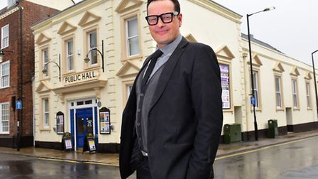 Neil Dunnell is the new manager of Beccles Public Hall. PHOTO: Nick Butcher